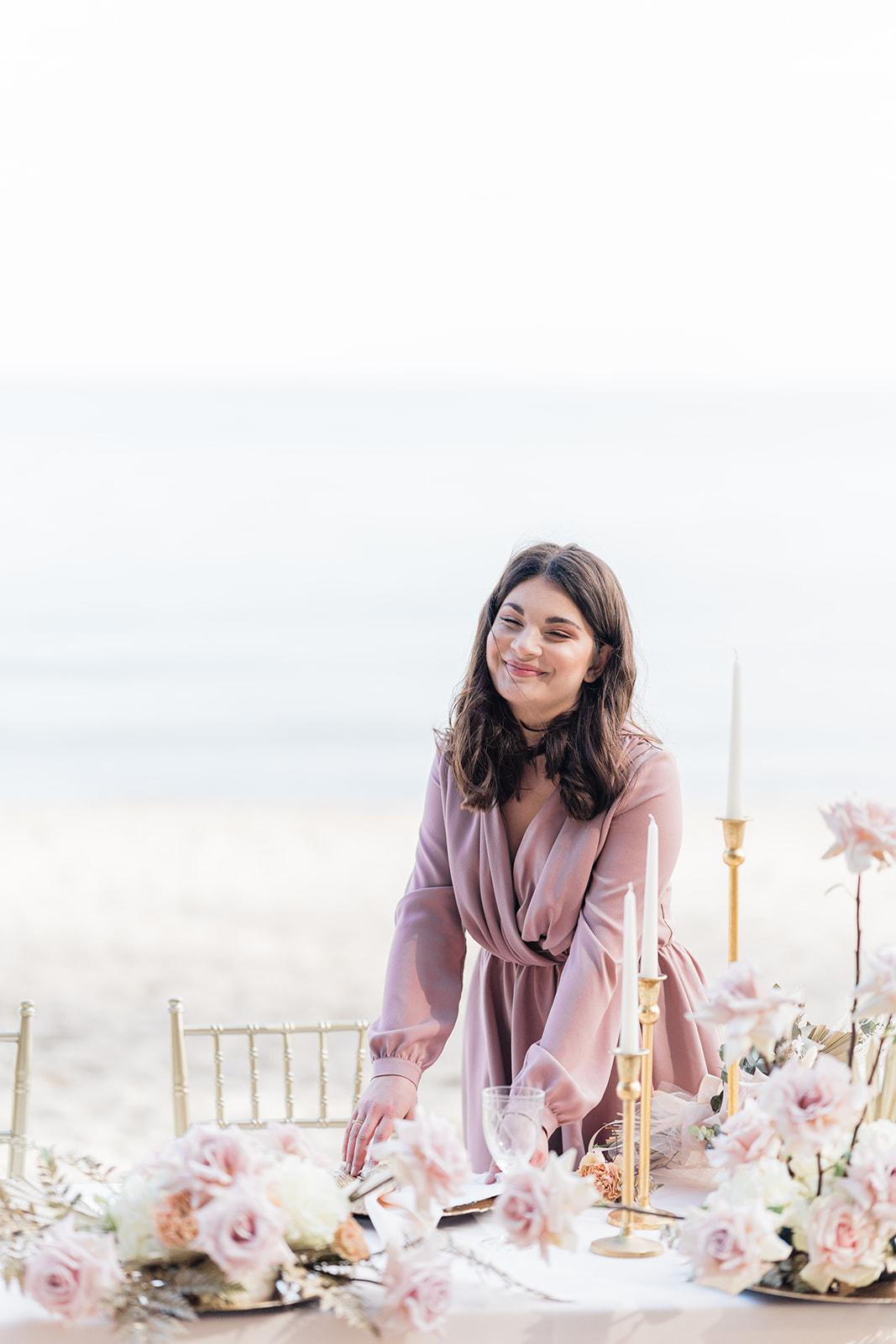 Sesja stylizowana Pastelowe Pola | Portfolio Weddings by Caroline - agencja ślubna